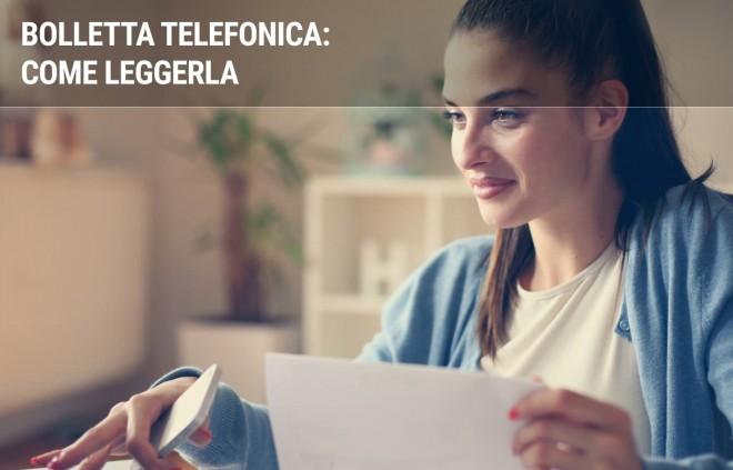 Come leggere correttamente la bolletta telefonica