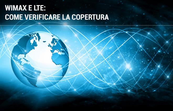 Come verificare la copertura Internet wireless WiMAX e LTE