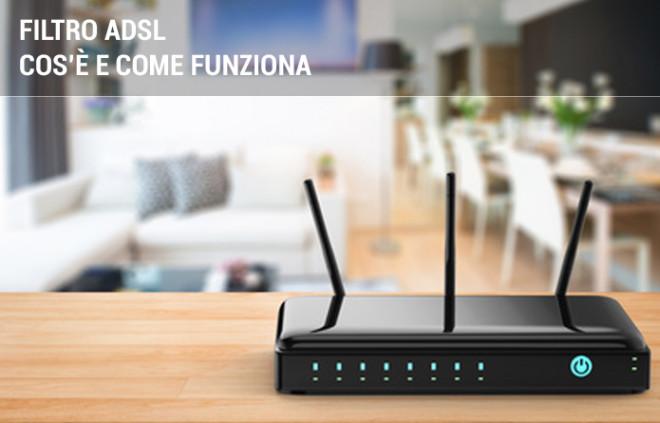 Filtro ADSL: cos'è e come funziona