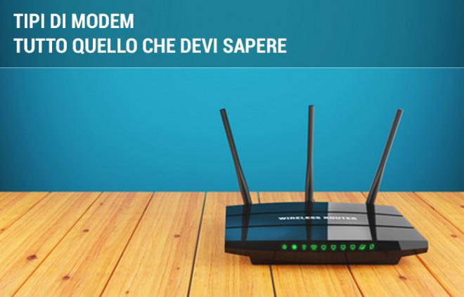 Tipi di modem disponibili: la guida completa
