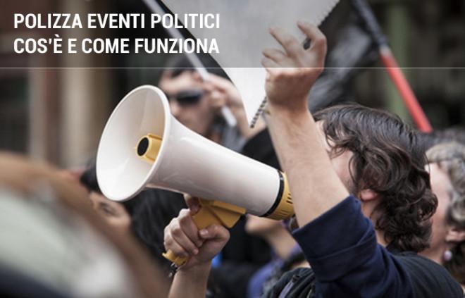 Polizza eventi socio-politici: cos'è e cosa copre