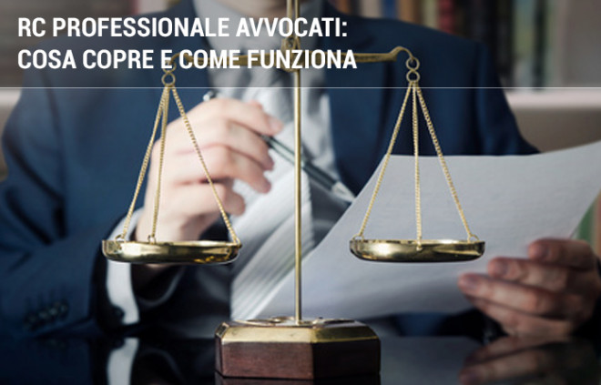 RC professionale Avvocati: cosa copre e come funziona