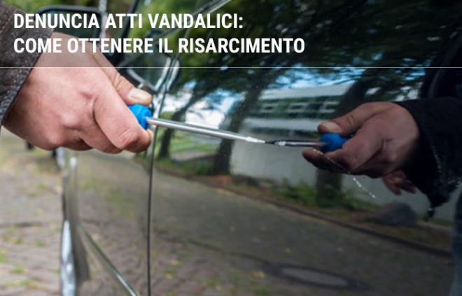 Denuncia atti vandalici: come ottenere il risarcimento