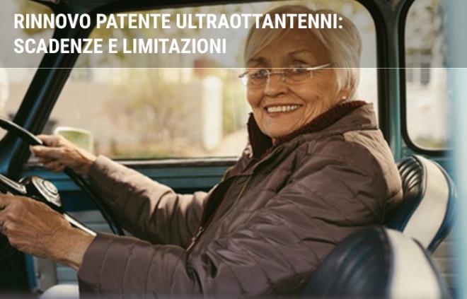 Rinnovo patente ultraottantenni: scadenze e limitazioni