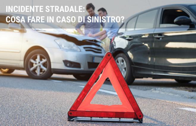 Incidente stradale: cosa fare in caso di sinistro?
