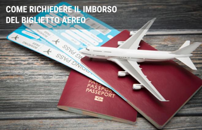Rimborso biglietto aereo non utilizzato: come chiederlo