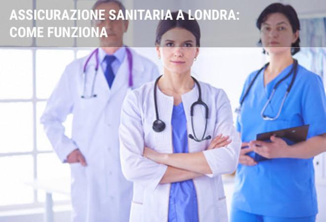 Assistenza sanitaria a Londra per gli italiani