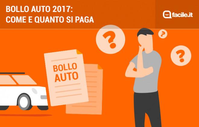 Bollo auto 2017: scadenze, costi e modalità di pagamento