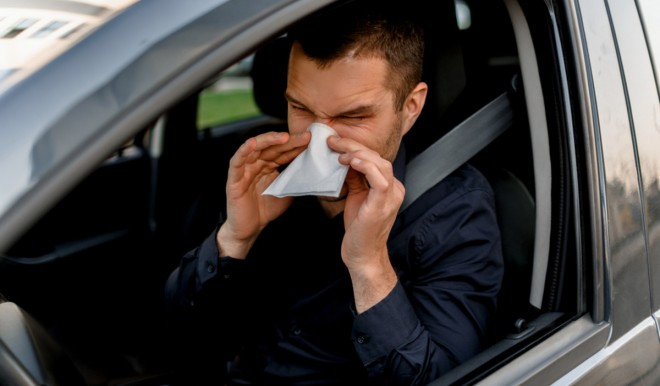 Allergia di primavera: pericolo di incidenti per chi guida?