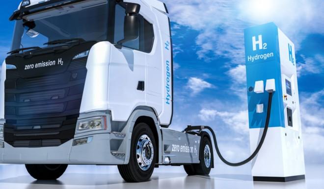 Camion all'idrogeno verde per contribuire a eliminare inquinamento e gas serra