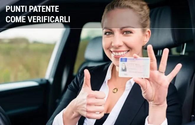 Come verificare i punti sulla patente