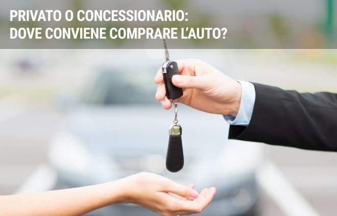Privato o concessionario: dove conviene comprare l'auto?