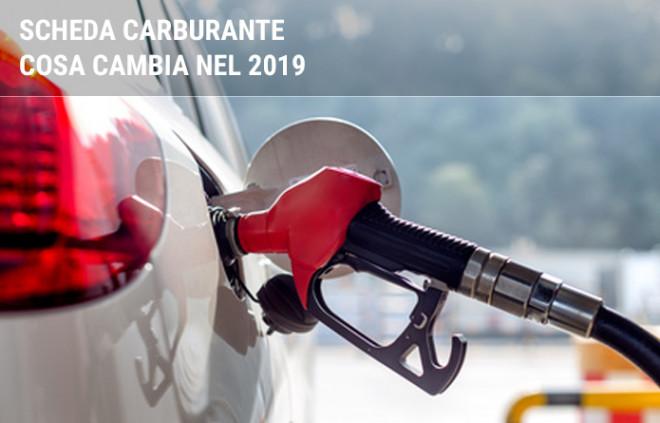 Schede carburante: cosa cambia nel 2019