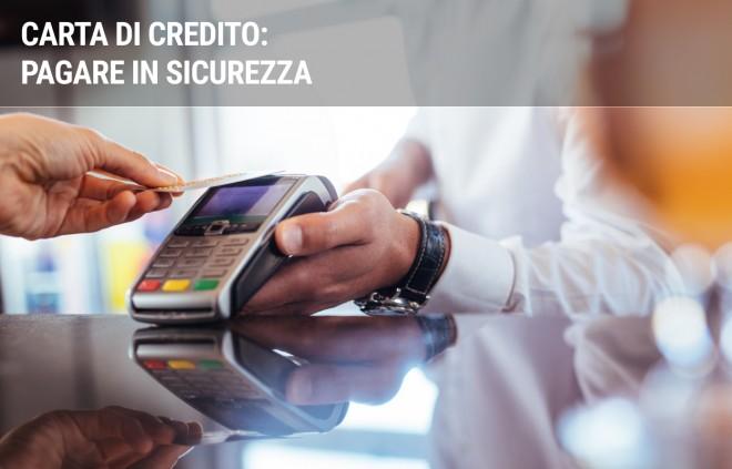 5 regole per usare la carta di credito in sicurezza