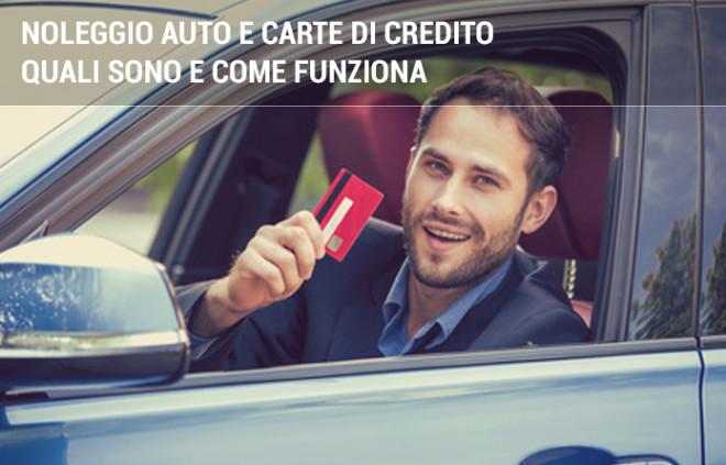 Noleggio auto: quali sono le carte di credito accettate?