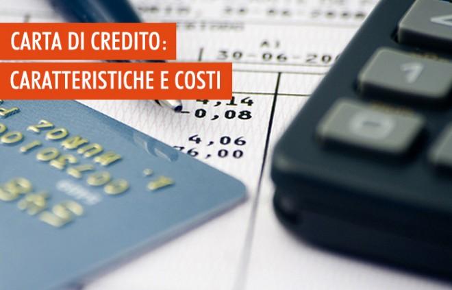 Carta di credito: come funziona e quanto costa