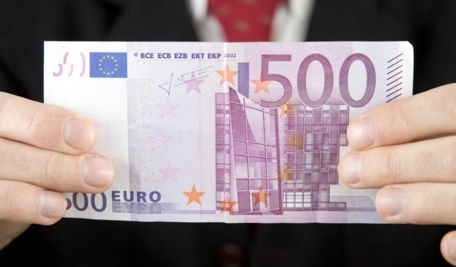 Banconota da 500 euro: l'Italia chiede di abolirla