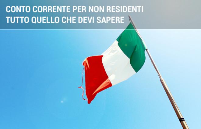 Conto corrente per non residenti in Italia: tutto quello che devi sapere