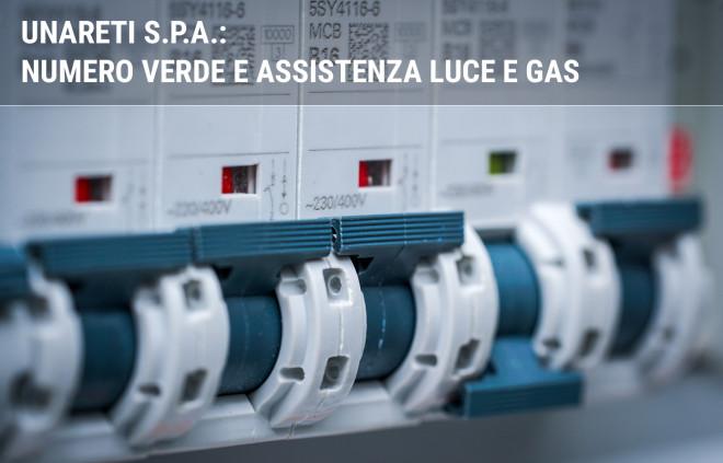 Unareti S.p.A.: numero verde e assistenza luce e gas