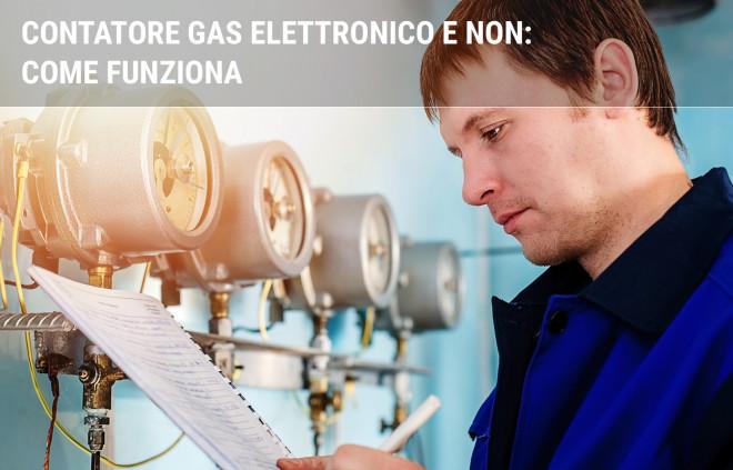 Contatore elettronico gas: come funziona e come leggerlo