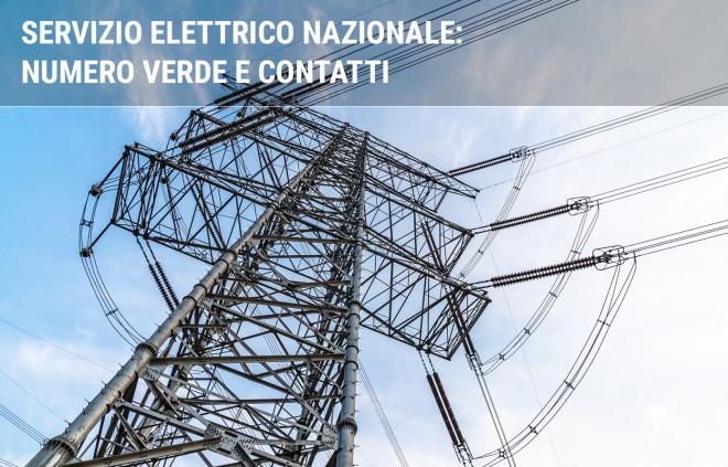 Servizio Elettrico Nazionale: numero verde e area clienti