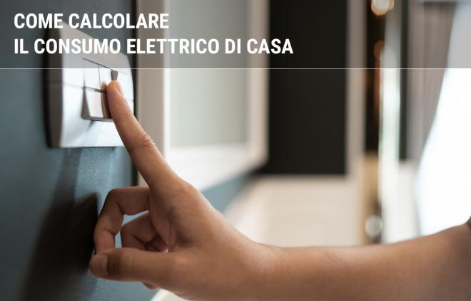 Calcolo consumo energia elettrica: come farlo