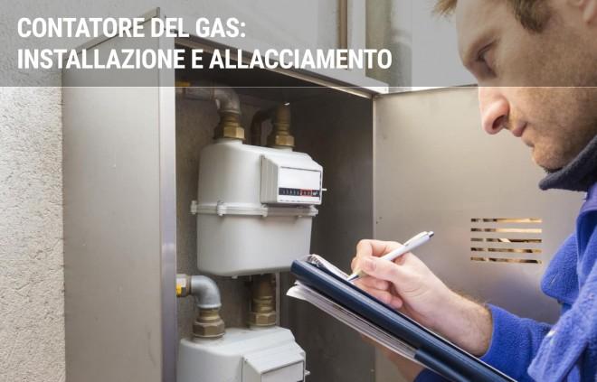 Contatore gas: installazione e allacciamento
