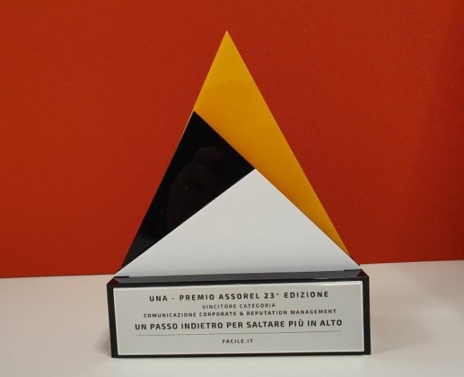 Facile.it vince il Premio Assorel nella categoria Comunicazione Corporate & Reputation Management