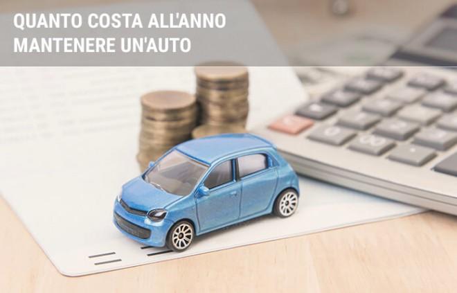 Quanto costa mantenere un'auto annualmente
