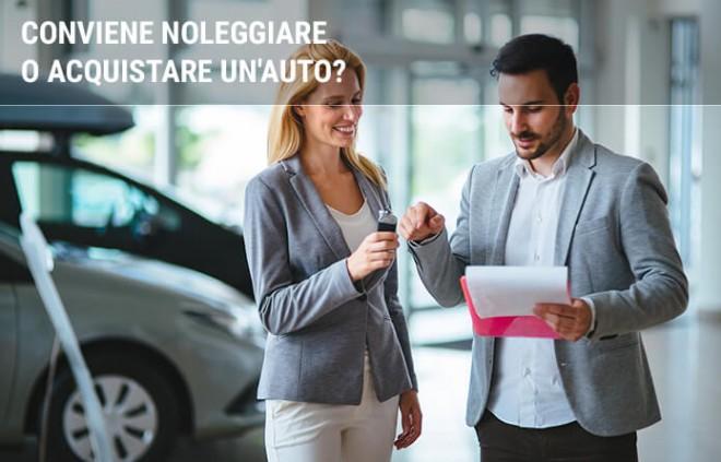 Conviene noleggiare o acquistare un'auto?