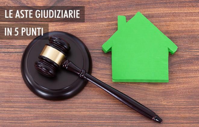 Le aste giudiziarie in 5 punti: un'occasione per acquistare casa