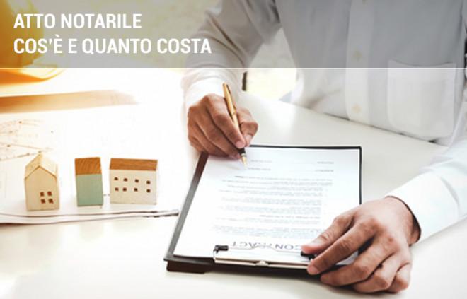 Spese notarili: quanto costa l'atto notarile