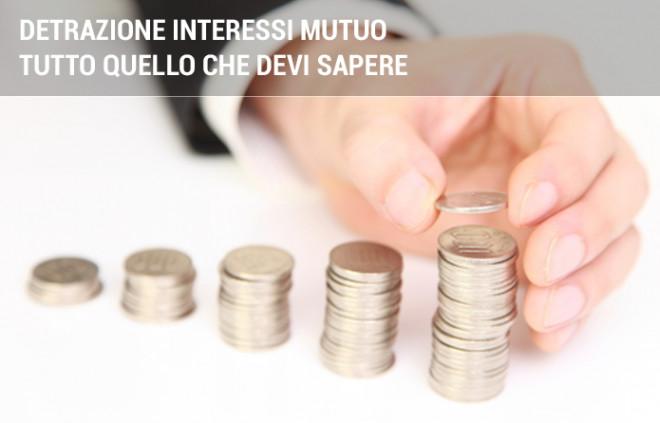 Detrazione interessi mutuo: cosa prevede la detrazione fiscale