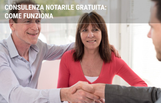 Consulenza notarile gratuita: come funziona