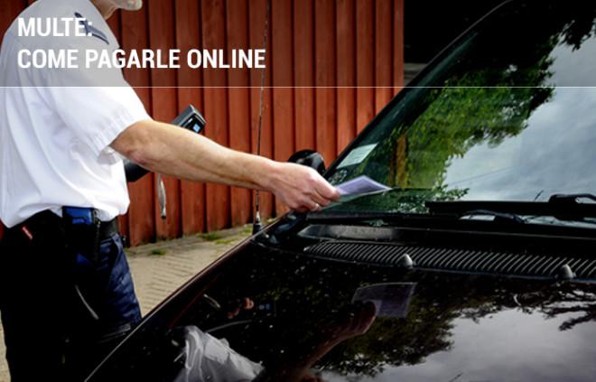 Multe: come pagarle online