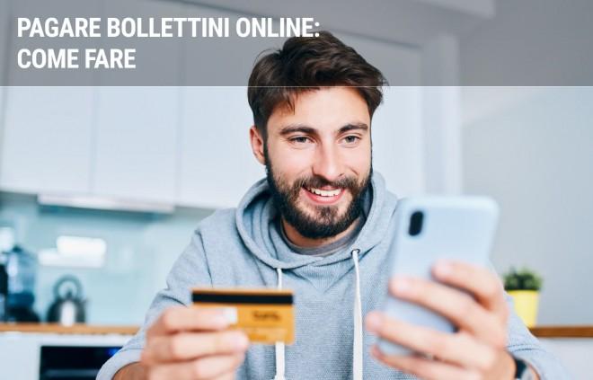Bollettini online: come pagarli