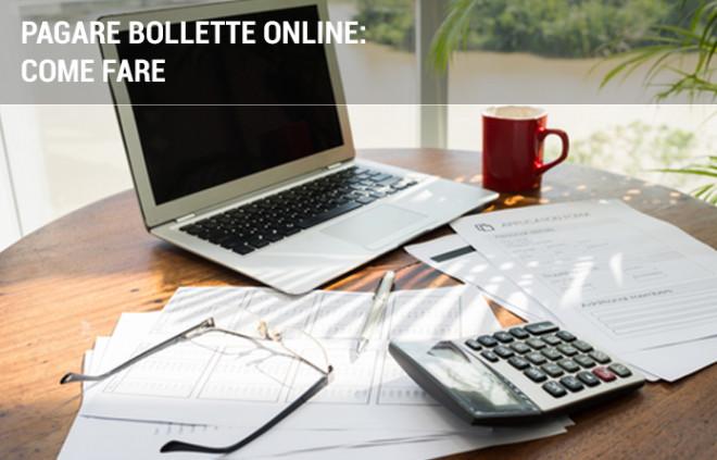 Bollette online: come pagarle da casa