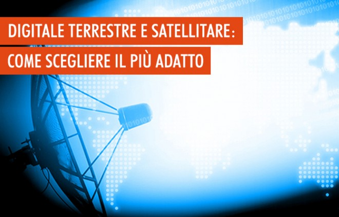 Il decoder: differenze fra digitale terrestre e satellitare