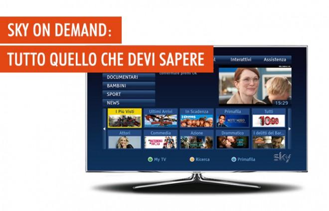 Sky On Demand: cos'è, quanto costa e come funziona