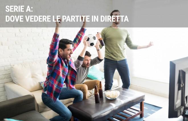 Serie A in TV: dove vedere le partite del campionato di calcio in diretta