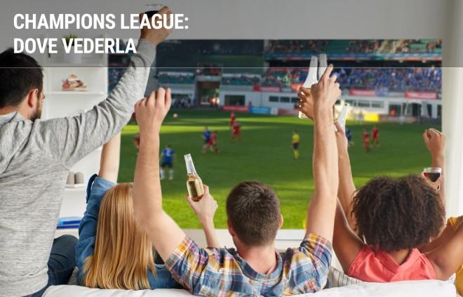 Champions League: dove vedere le partite in diretta