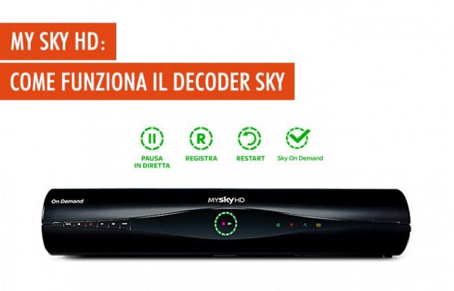 My Sky HD: come funziona il decoder Sky