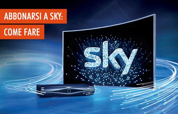Abbonamento Sky: come abbonarsi in 5 punti