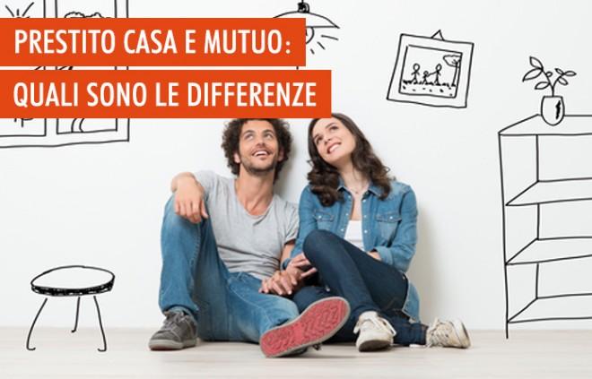 Qual è la differenza tra mutuo e prestito?