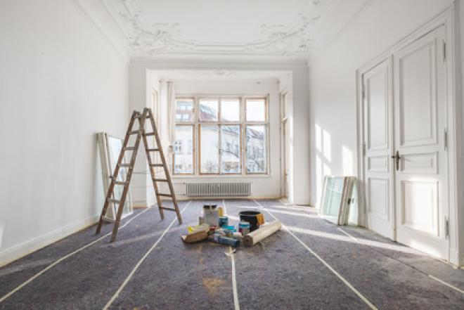 Si riducono leggermente i prestiti per ristrutturazione casa