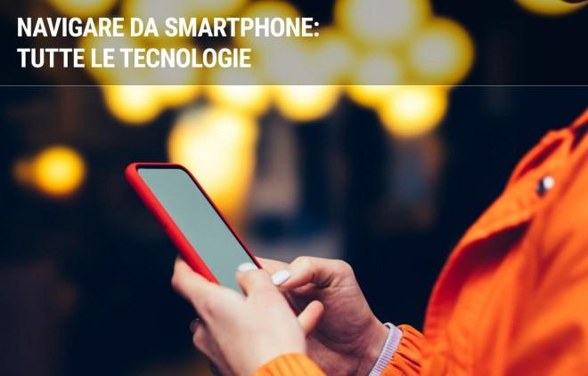 Internet sui cellulari: le tecnologie per il traffico dati