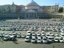 Caro polizze, a Napoli protestano i tassisti