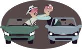 Bollino nero, umore nero: nell'ultimo anno 51 milioni di litigi al volante